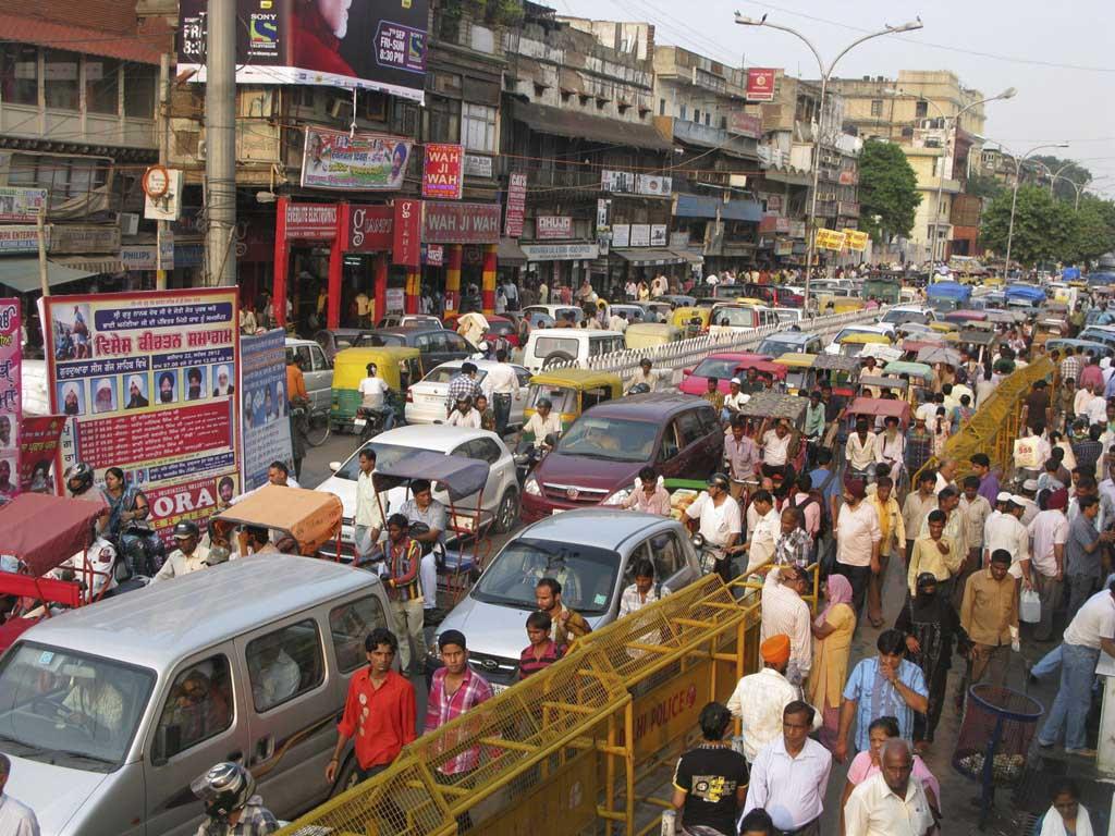 DELHI crowd