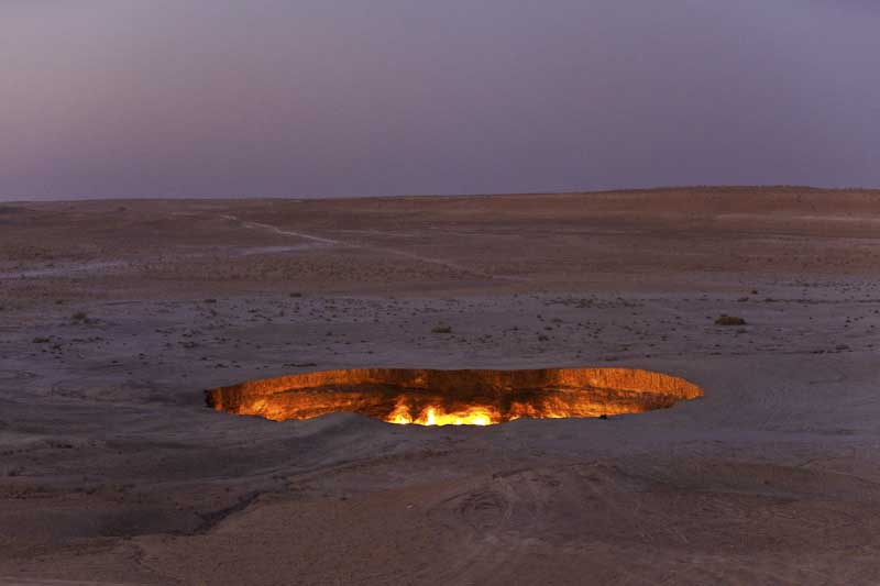 Turkmenistan, Kara Kum Desert