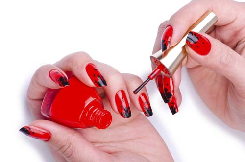 Fashion-concept-with-nail-art hot cute sexy