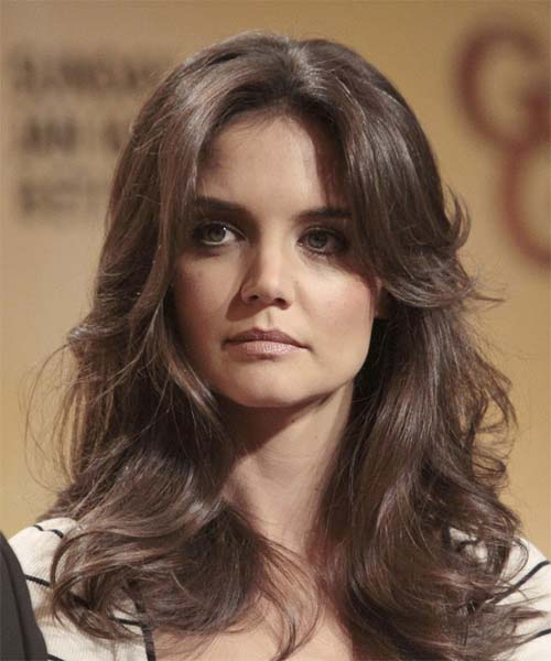 Katie Holmes long hairstyle