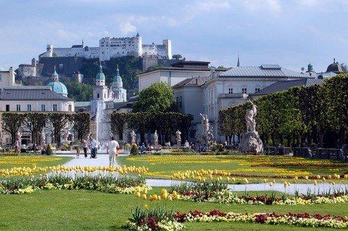 Mirabell-Gardens-Salzburg-Austria