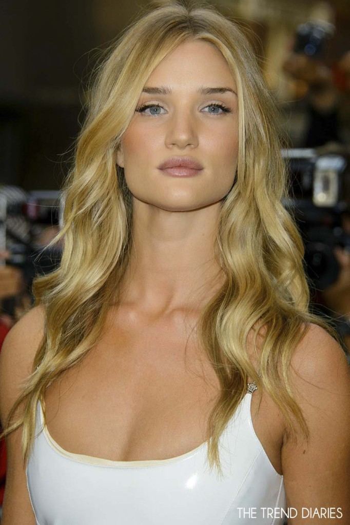 Rosie-Huntington-Whiteley long hairstyles