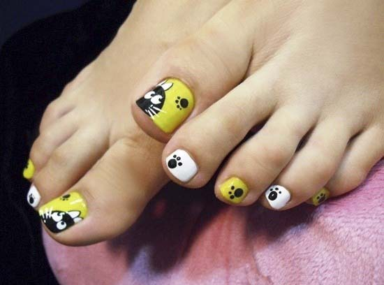 cut-toe-nail-designs-for-kids