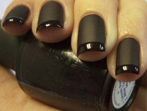 how to put French-Matte-Nails