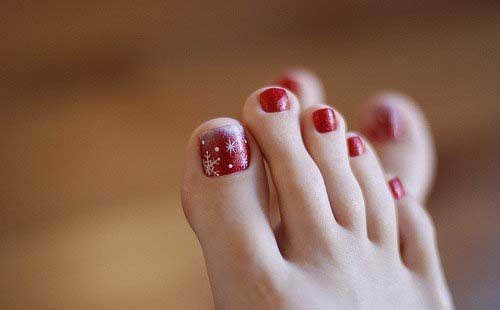 sexy toe-nail-designs-with-glitter