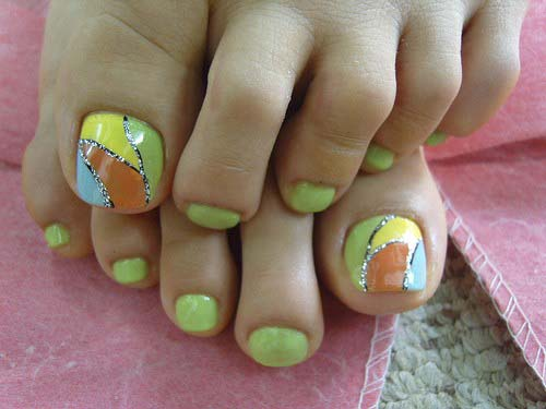 toe-nail-designs-anchor-lovely-hot