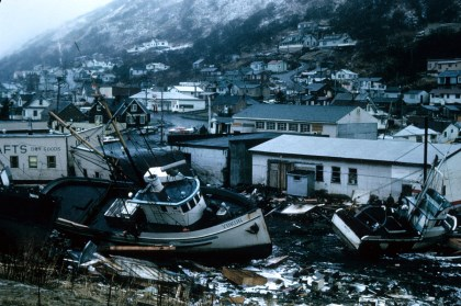 Alaska Earthquake, 1964 pictures