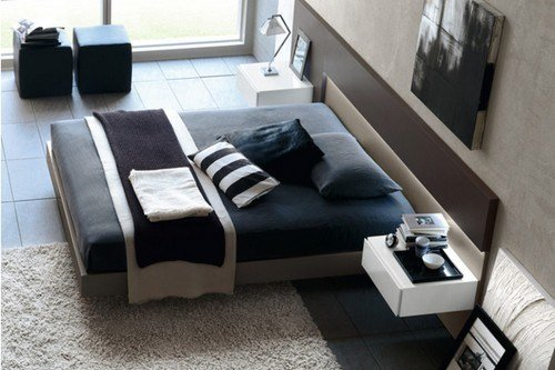 Black-White-Bedroom