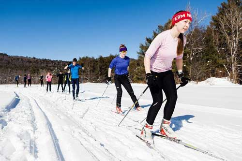 Cross Country Skiing girl