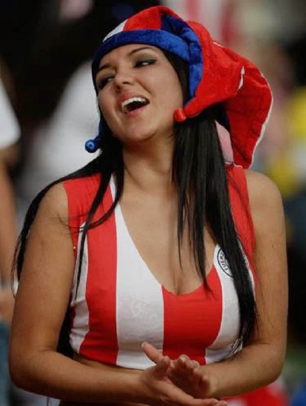 FIFA World Cup 2014 sexy cute fan