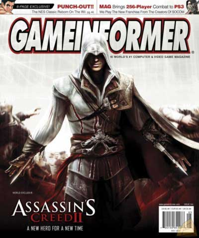 Game Informer magazine-cover