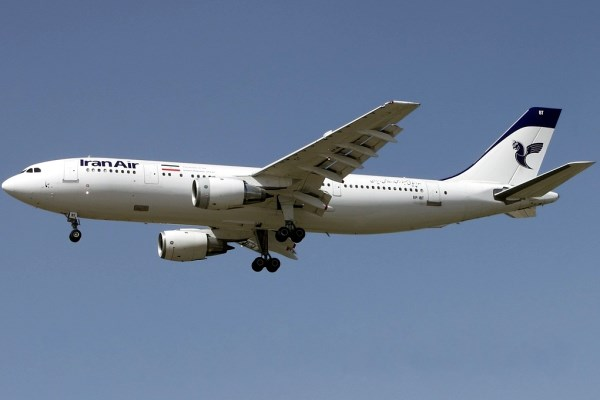 Iran Air Flight crash