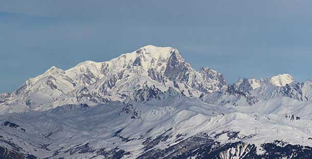 Mont Blanc mountain