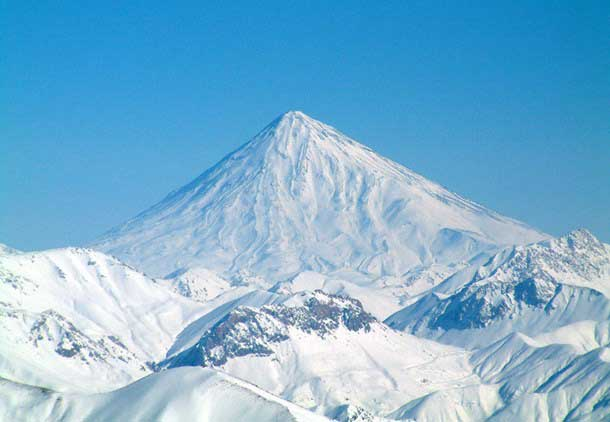 Mount Damavand mountain
