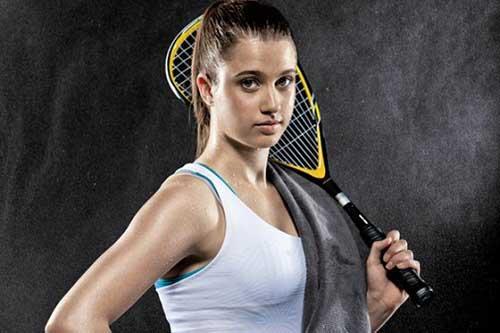 Squash girl