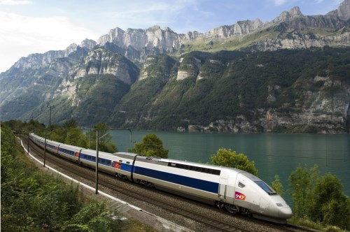 TGV POS France train