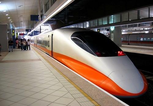 THSR 700T, Taiwan train