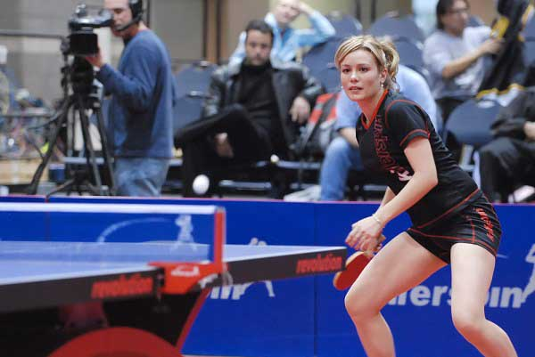 Table Tennis beautiful girl player