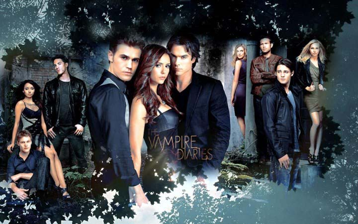 The Vampire Diaries tv show