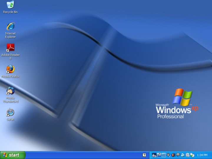 WinXP-Desktop wallpaper