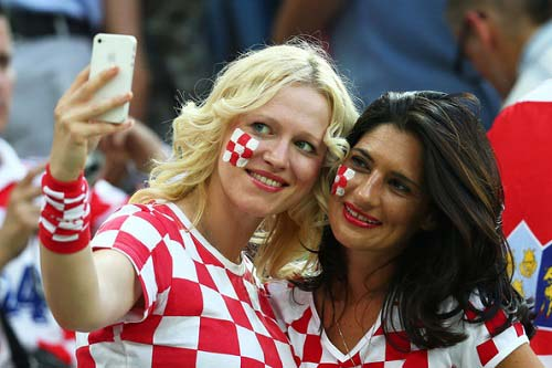 croatia-sexiest fan hot cute beautiful