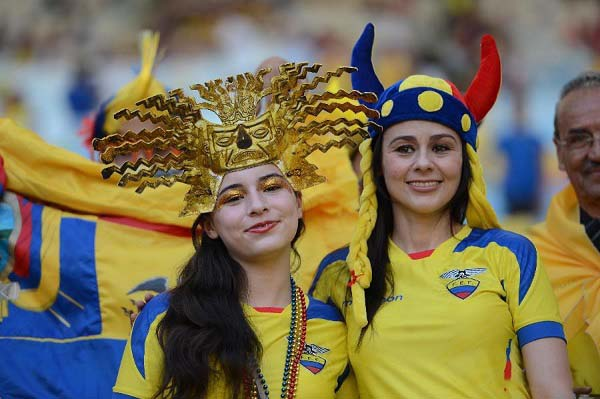 ecuador fan FIFA World Cup