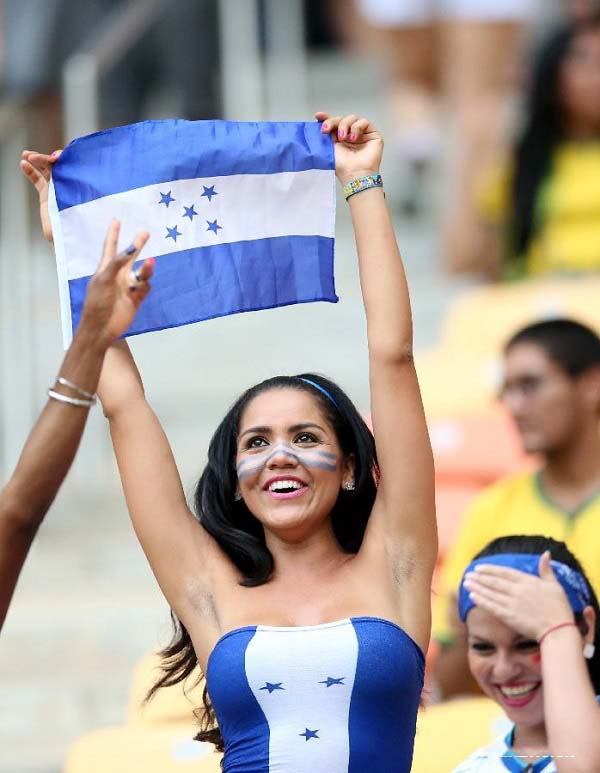 honduras fan FIFA World Cup