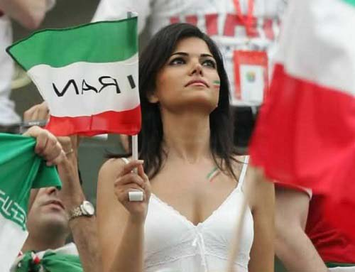 hottest fan of iran fifa 2014 world cup