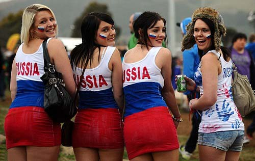 russian beautiful womens hottest fan of fifa 2014 world cup