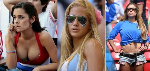 sexy girl hottest fan of fifa 2014 world cup