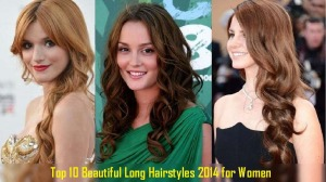 Top 10 Beautiful Long Hairstyles 2014 for Women