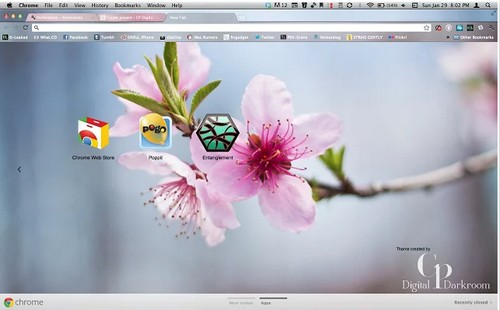 cherry theme for chrome browser