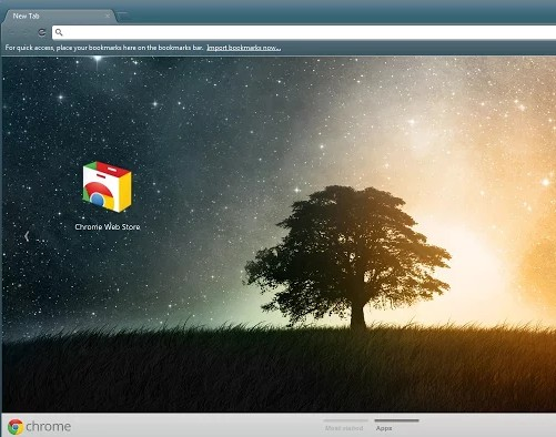 lonetree theme for chrome browser