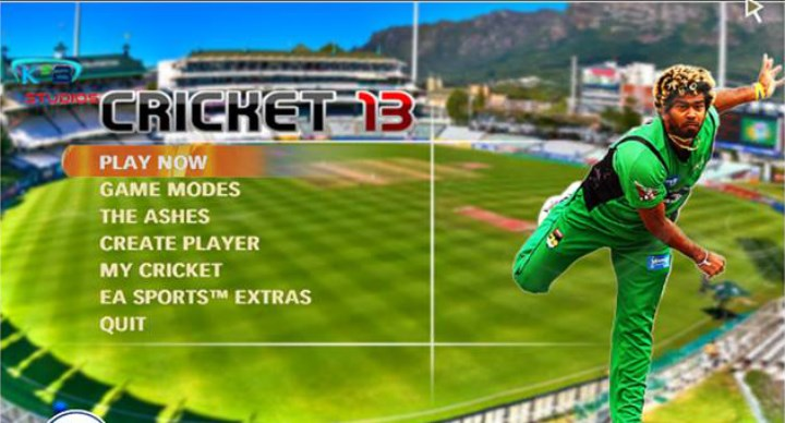 EA Cricket 2013