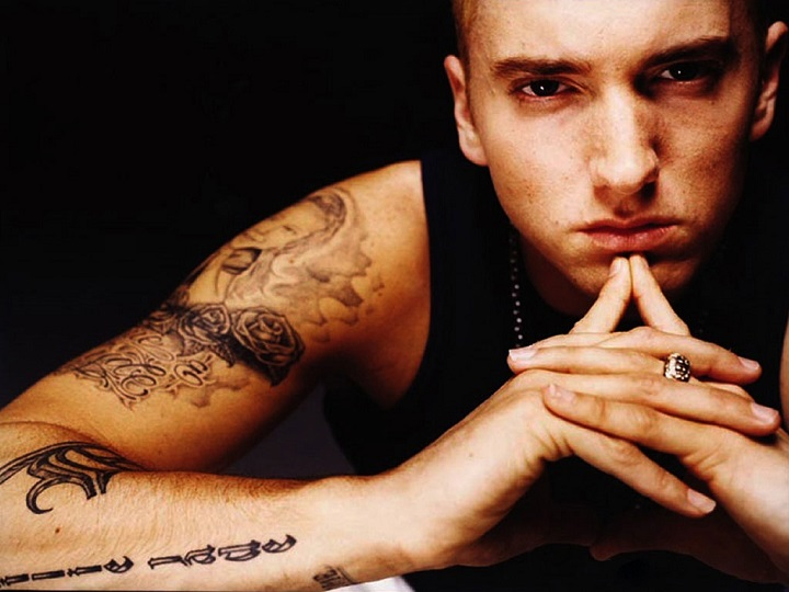 Top 10 The Best Rappers of All Time Eminem