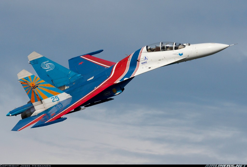 Top Ten Best Fighter Jets in the World Sukhoi-Su-27UB