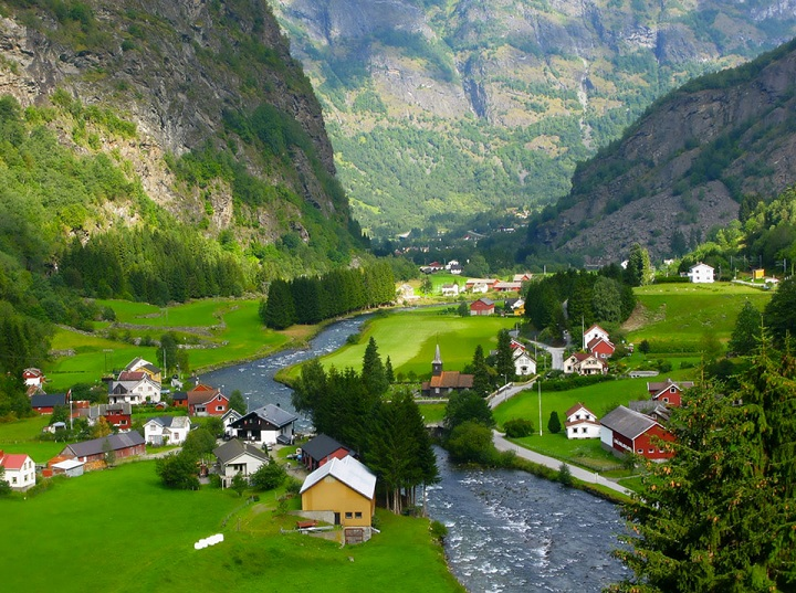 Top Ten Most Beautiful Countries In The World Norway