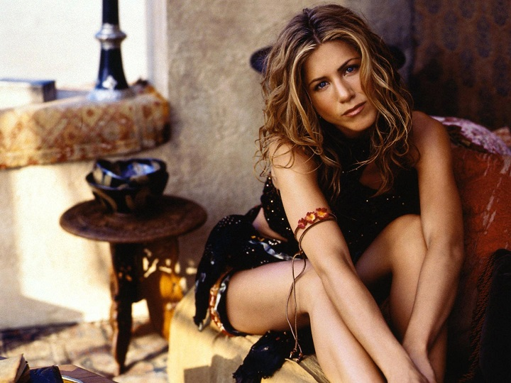 Top Ten Sexiest Hollywood actress Jennifer Aniston