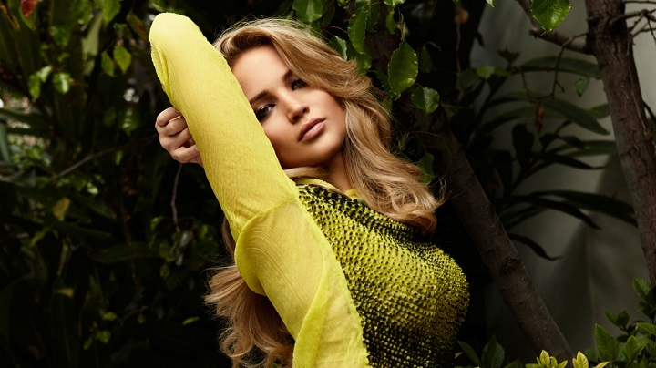 Top Ten Sexiest Hollywood actress Jennifer Lawrence
