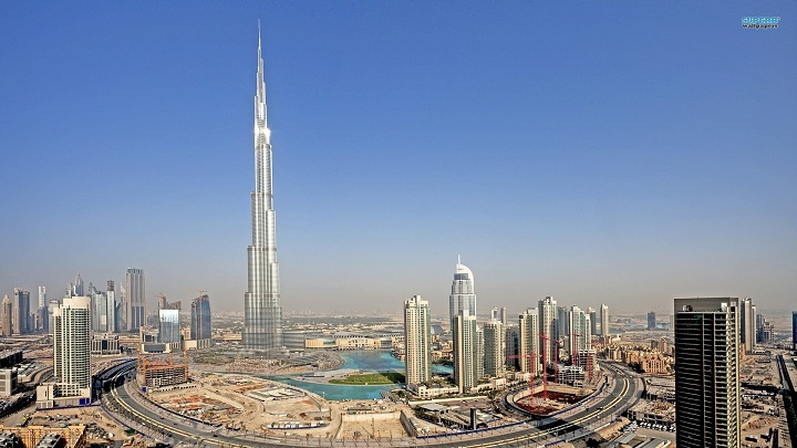 Top Ten Tallest Buildings in the World By 2016 Burj Khalifa (DUBAI, UAE)