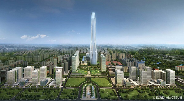 Top Ten Tallest Buildings in the World By 2016 Chow Tai Fook Center