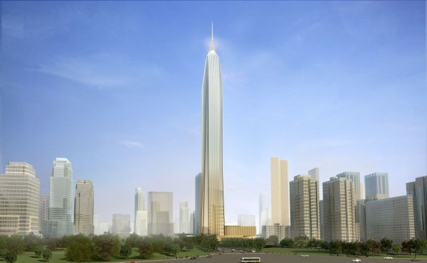 Top Ten Tallest Buildings in the World By 2016 Ping an International Finance Tower Center