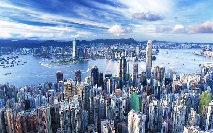 Top Ten Most Powerful Countries in the World China Hong-Kong-View-China-City