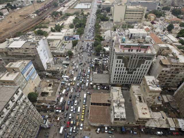 karachi population