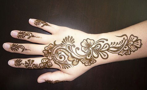 mahendi-design cute