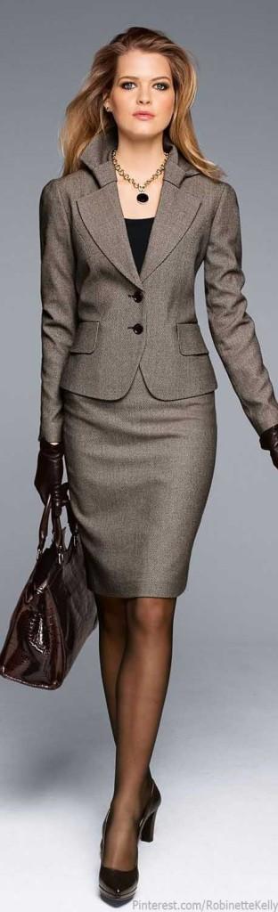 power suit dress for success