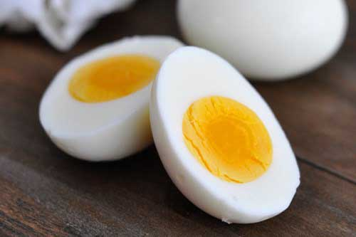 Eggs for fitness excersice