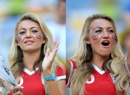 England hottest fan