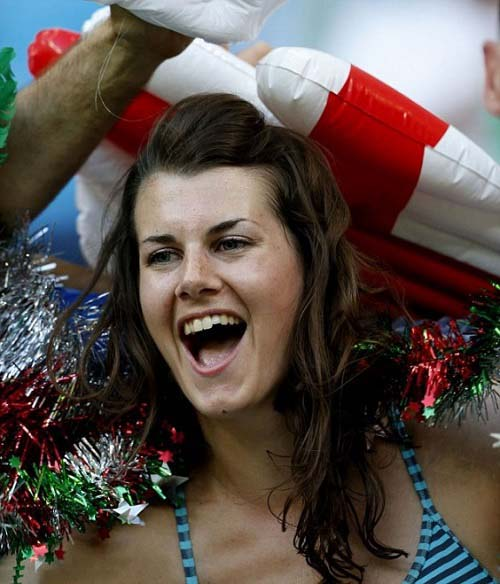 England lovely fans