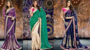 Beautiful Indian Saree Designs 2014